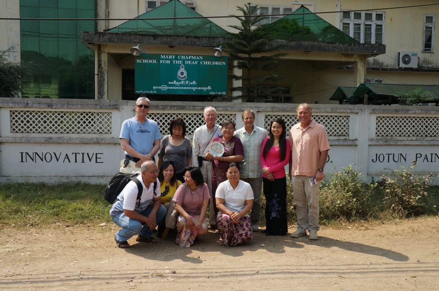 Audiology Hearing Aid Humanitarian Mission Mary Chapman School