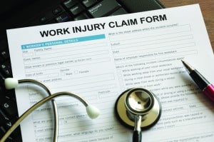 Work Injury Claim Form Example
