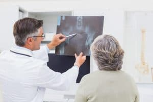 X-ray Overview With Patient