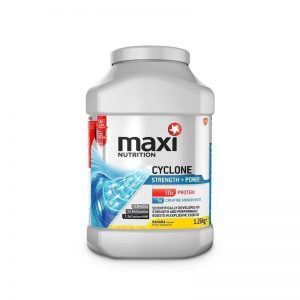 Maxi Nutrition Cyclone Strength + Power