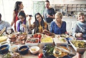 Family Dinner Gathering