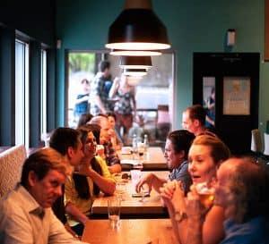 Hearing-At A Big Dinner