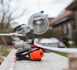 Hearing Protection On A Saw Table
