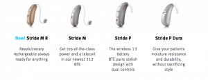 New Stride Hearing Aids