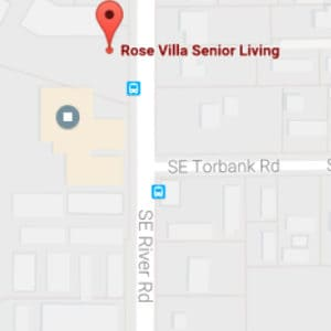 Map Image of Rose Villa Senior Living