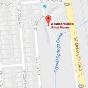 Map Image of Wetmoreland's Union Manor