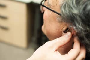 getting fit for a hearing aid
